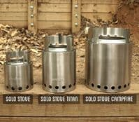 Solo Stove Campfire - Brilliant, Natural Fuel Backpacking Stove